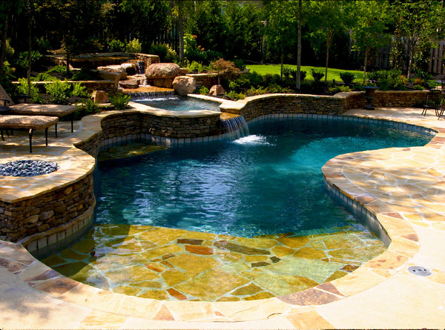 Devonshire Natural Pool & Spa Design - Klassisch - Pools ...
