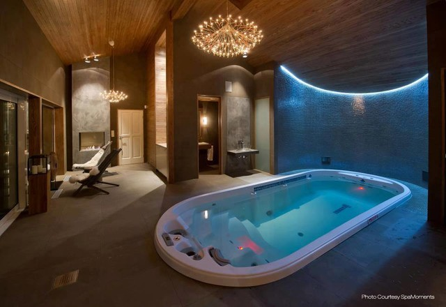 Dimension One Spas - Contemporary - Swimming Pool & Hot Tub - San ...