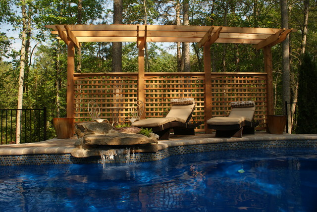Disler pool traditional pool richmond by custom for Pool design richmond va