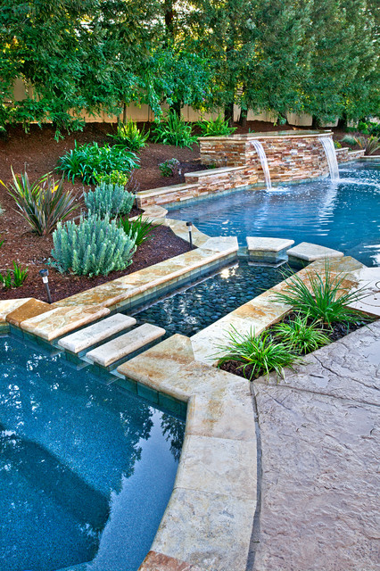 Distinguished Pools traditional-pool