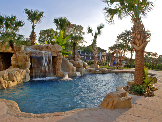 Dr B Tropical Pool Austin By Blue Haven Pools Of
