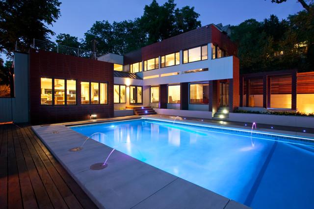 Drakes Residence Modern Pool Kansas City By Faust