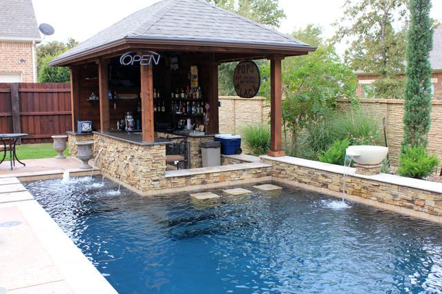 Dry Stack Custom Swimming Pool North Richland Hills TX
