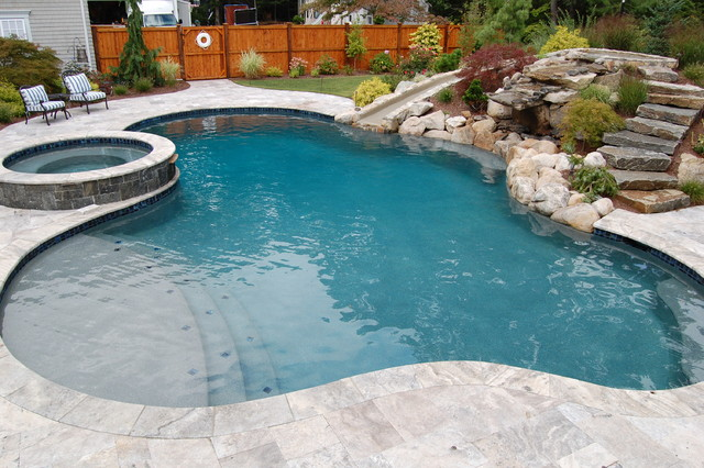 duxbury permacrete traditional pool providence by. Black Bedroom Furniture Sets. Home Design Ideas