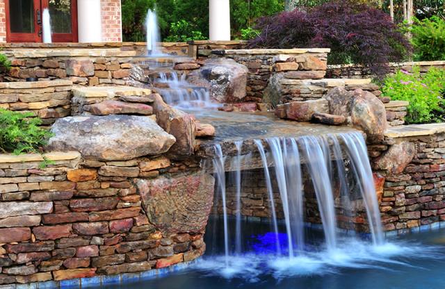 Eads Natural Pool And Backyard Resort : Eads Natural Pool & Backyard Resort traditionalpool