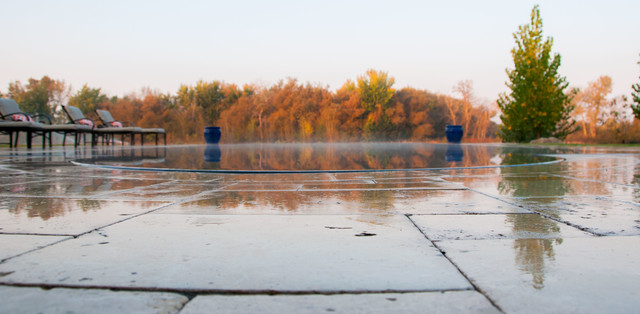 Eagle, ID Infinity Edge by river - Pool - boise - by Infinity Pools, LLC
