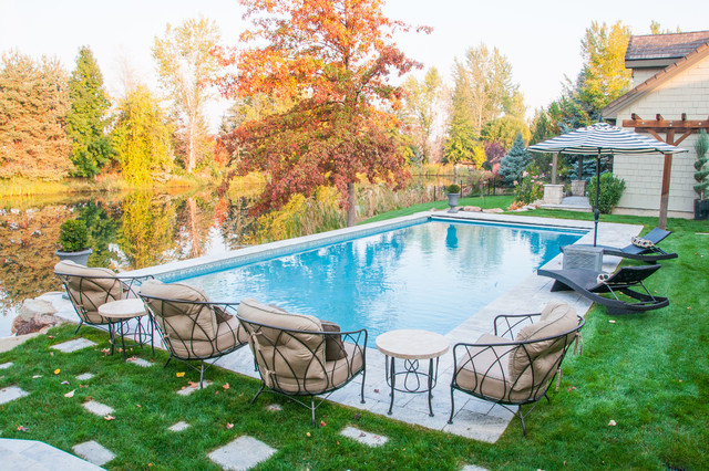 Contemporary Pool Boise Eagle, River's Edge contemporary-swimming-pool-and-hot-tub