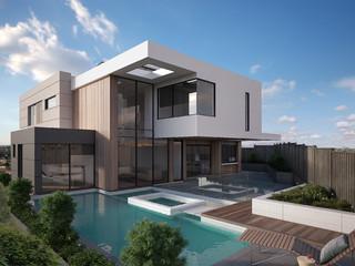 eaglemont modern pool melbourne by destination living. Black Bedroom Furniture Sets. Home Design Ideas