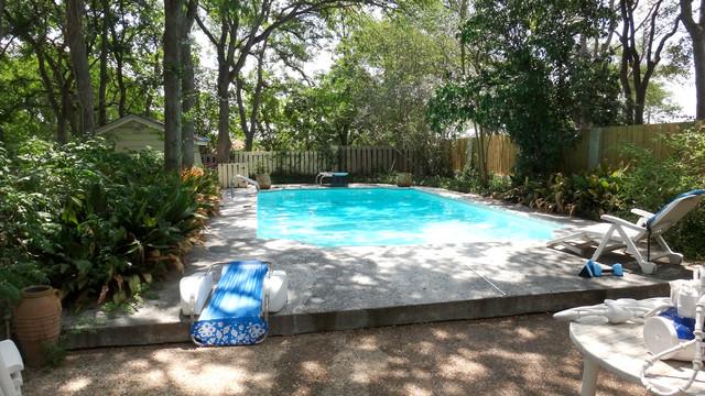 East Austin Landscape Design & Install contemporary-pool