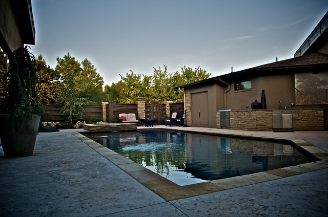 East edmond zen pool asian pool other by caviness for Zen pool design