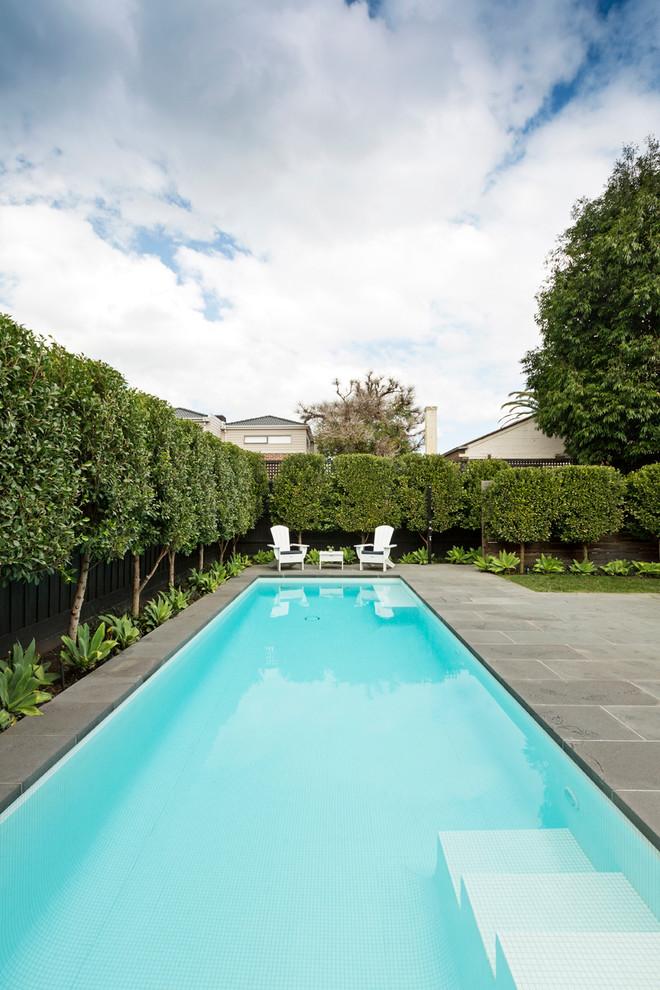 Pool - traditional rectangular lap pool idea in Melbourne