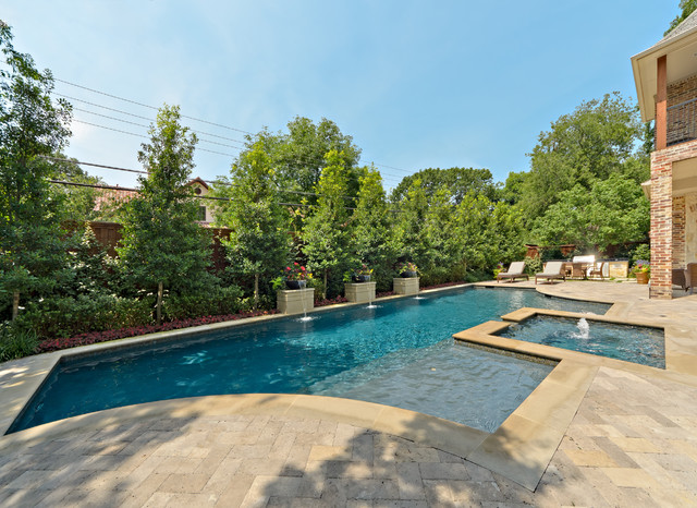 Private swimming pools eclectic pool dallas by for Pool design dallas