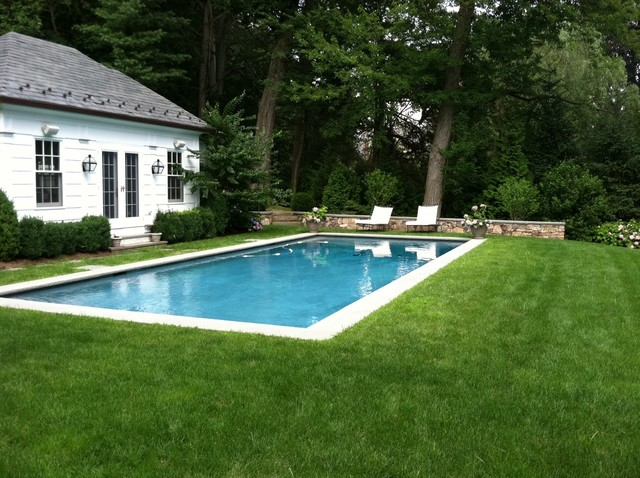Edgewater design llc eclectic pool new york by for Swimming pool surrounds design