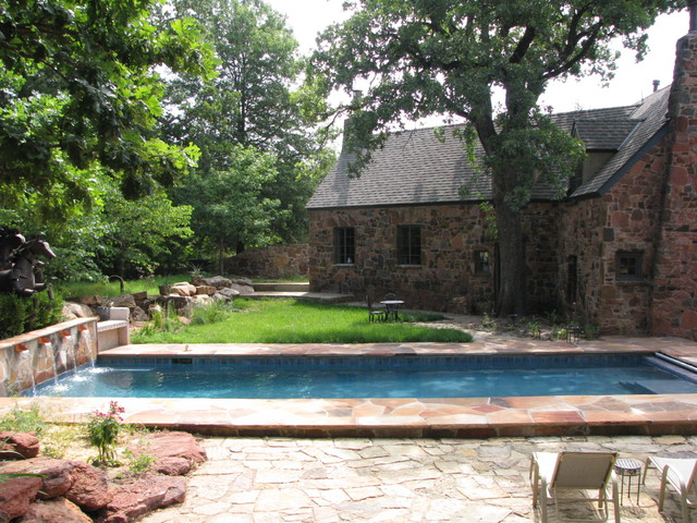 Edmond Eclectic Pool Oklahoma City By J Allen Designs