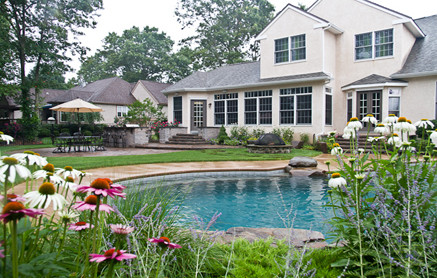 Egg Harbor NJ Residence contemporary-pool