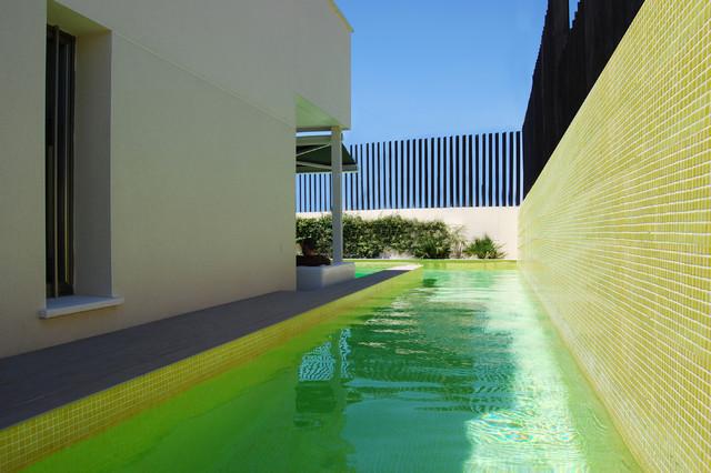 El lujo del vac o vivienda en rivas vaciamadrid contempor neo piscina madrid de acgp - Piscina rivas vaciamadrid ...