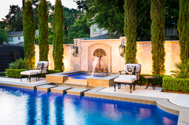 Elegant Traditional Pool Dallas By Pool