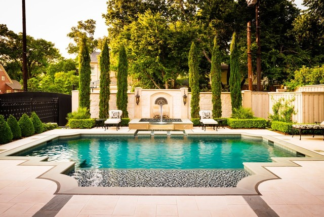 Elegant traditional-pool