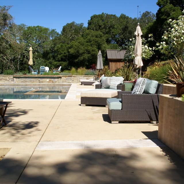 Elements Landscape inc contemporary-pool