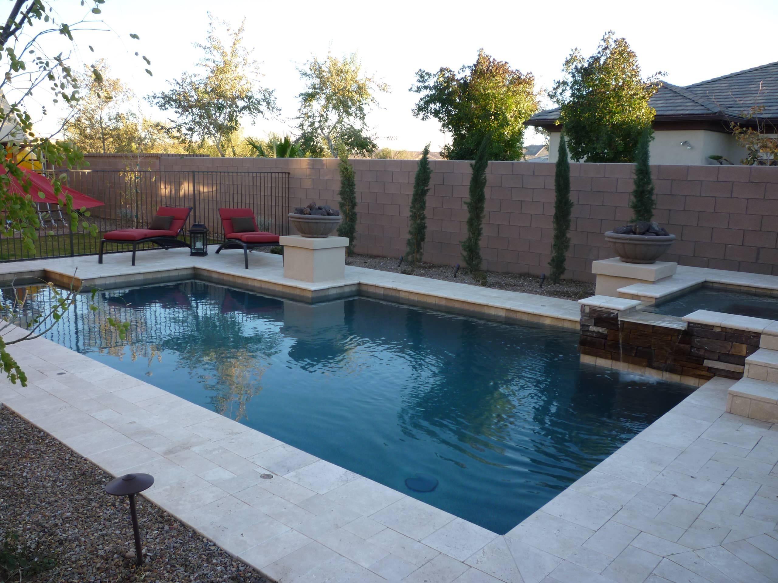 Elevated Spa & Pool