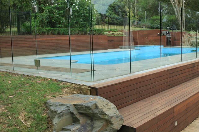eltham landscaping contemporary pool melbourne by