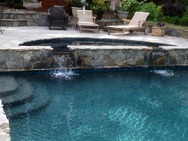 Emerald Bay Pebble Tec Pool Finish Transitional Pool