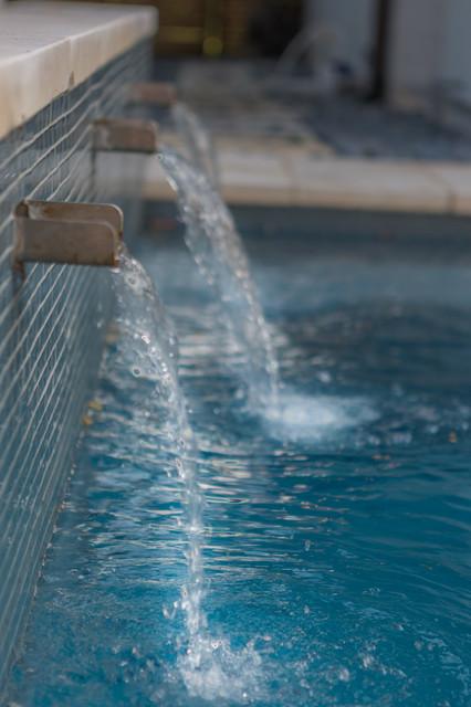 Ethridge  | New Construction contemporary-pool