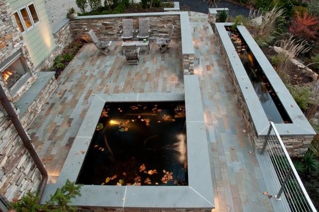 Everything Bluestone Contemporary Pool Philadelphia