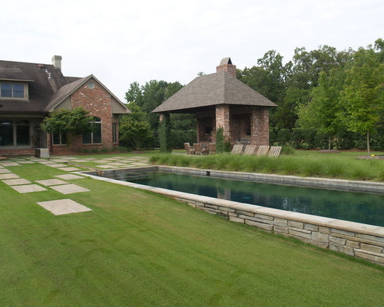 Sloped yard home design ideas pictures remodel and decor for Pool design sloped yard
