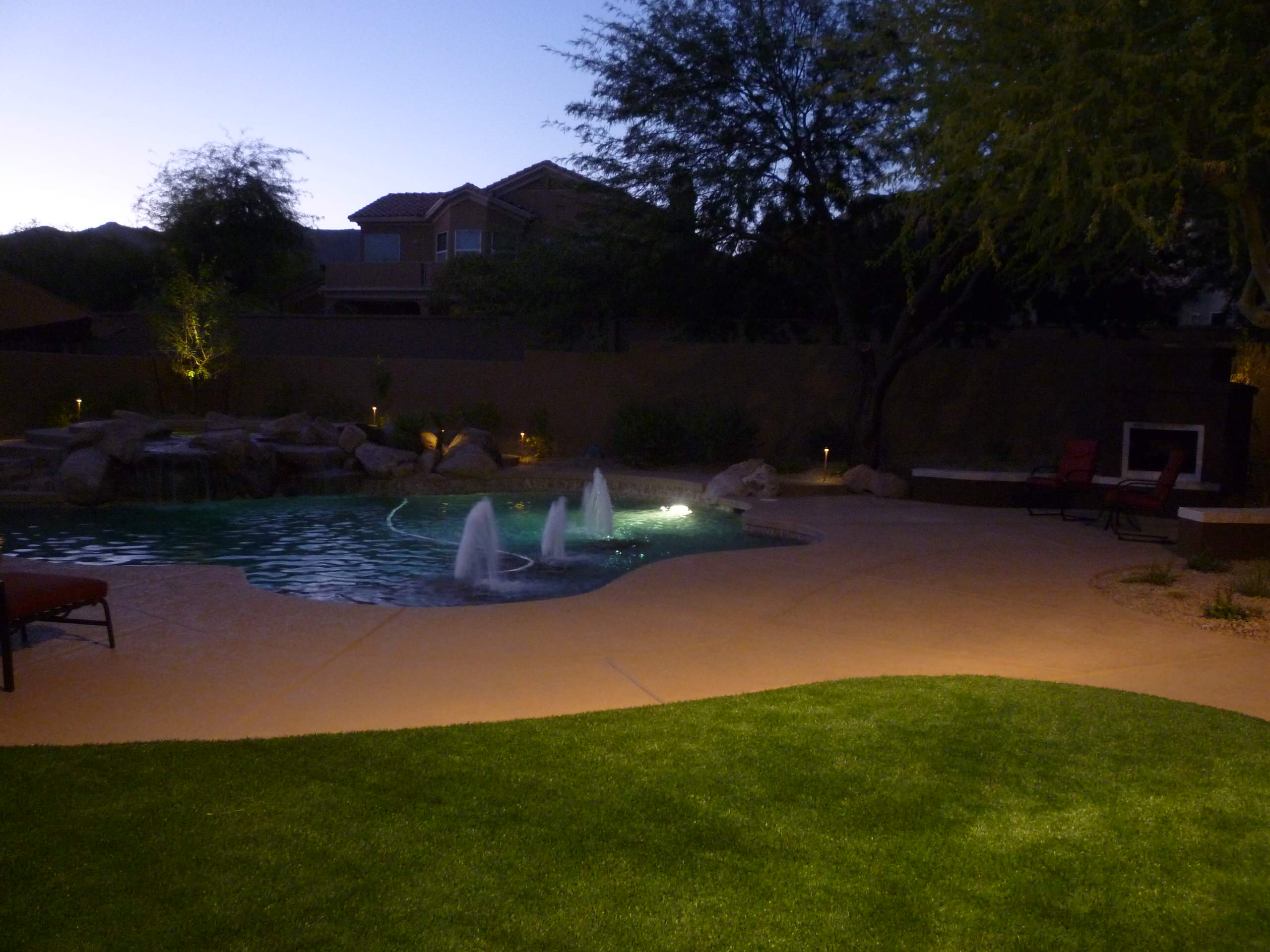 Expanded Pool Deck