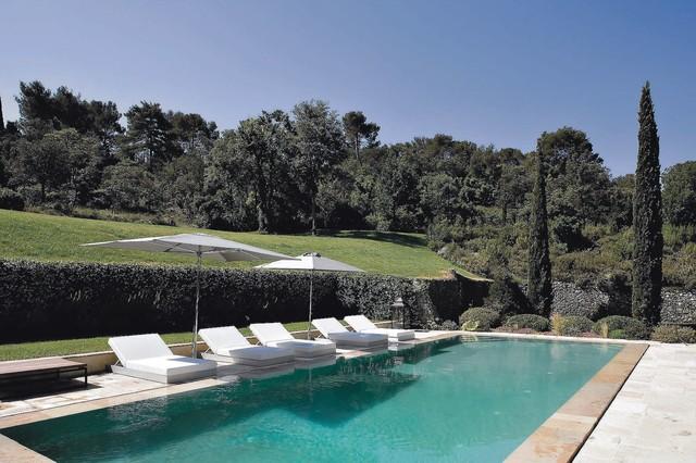 Tuscan pool photo in New York