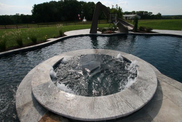 extreme backyard makeover modern pool