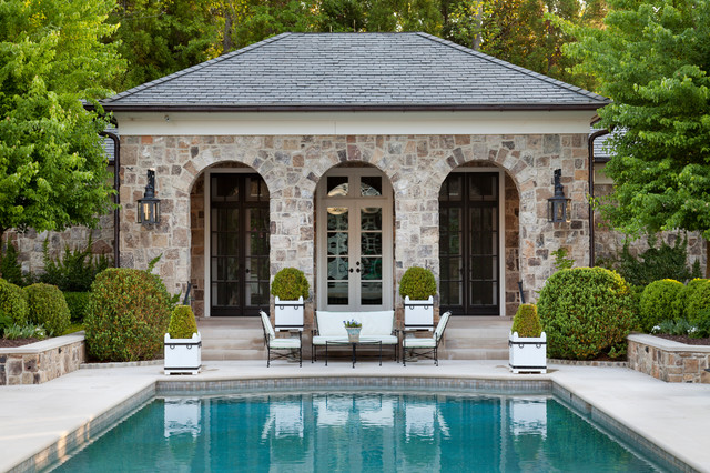 Fairfield traditional pool atlanta by howard for Pool design studio