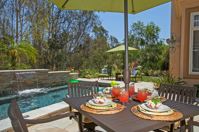 Fun Outdoor Living : Family Fun Outdoor Living - Transitional - Pool - San ...