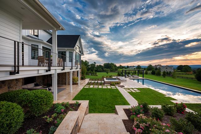 Farmhouse Modern - Luxury Outdoor Living in Waterford, VA ... on Colao & Peter Luxury Outdoor Living id=60098
