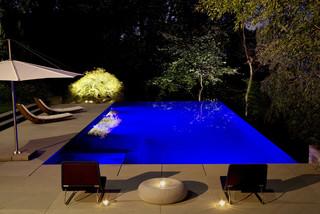 Fateh Night - Modern - Swimming Pool & Hot Tub - DC Metro