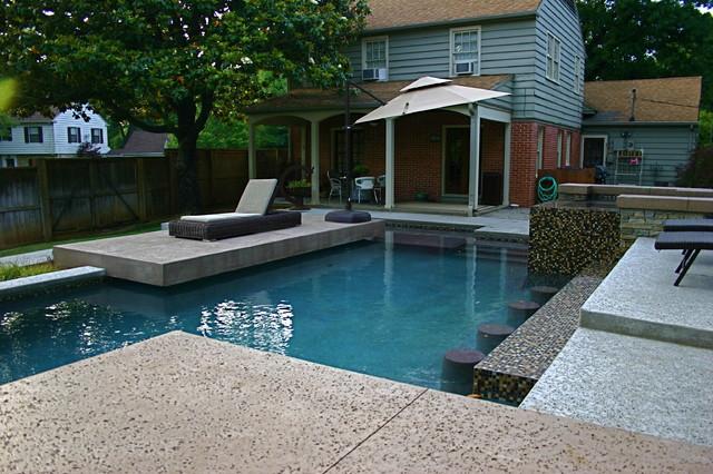 Faulkner contemporary-pool