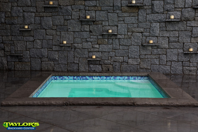 fiberglass hot tub contemporary pool inground diy concrete how much do cost