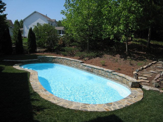 Fiberglass Pools Modern Pool Other Metro By Poolscapes Of Charlotte