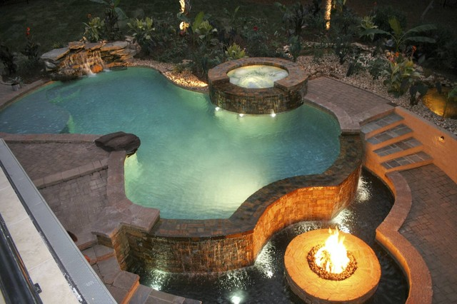 Fire & Water tropical-pool