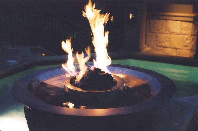 Fire bowls - Pool fire bowls ...