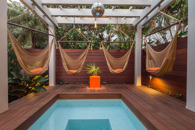 Fleming Street - Tropical - Pool - Other - by Craig Reynolds Landscape ...