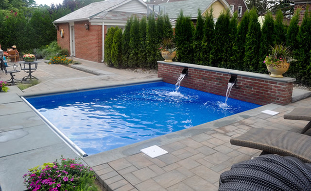 Floral Park Pool Traditional Pool New York By Natures Canvas Landscape Design Group