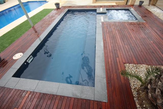 florentina x modern pool perth by buccaneer pools. Black Bedroom Furniture Sets. Home Design Ideas