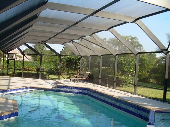 Florida Pool Enclosure Photos Tropical Swimming Pool Hot Tub Miami By Screen Patio