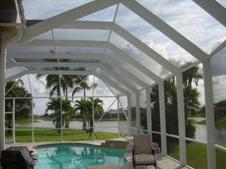 Florida Screen Pool Enclosures Tropical Pool Miami