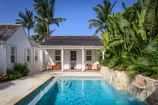 Fort Point Cottage, Harbour Island, The Bahamas tropical-pool