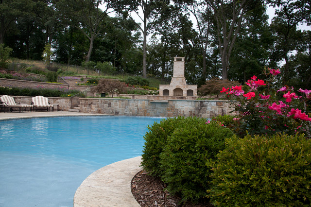 Franklin Lakes Milbrook Project 1 traditional-pool