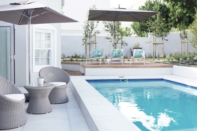 Franschhoek Guesthouse - The Grapevine contemporary-pool