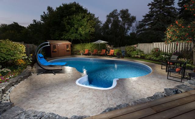 Fray Pickering Vinyl Pool Renovation Modern Pool Toronto By Bremner Pool Spa
